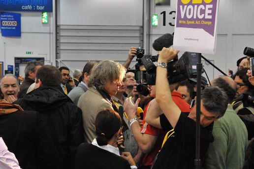 Bob Geldof visits