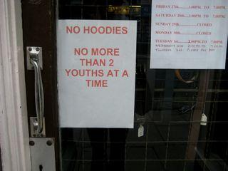 No Hoodies
